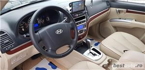 Hyundai Santa Fe2007/diesel/4x4/ Automata / piele crem /klima/full//import germania  - imagine 7