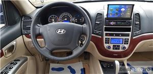 Hyundai Santa Fe2007/diesel/4x4/ Automata / piele crem /klima/full//import germania  - imagine 9