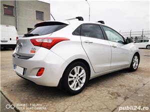 Hyundai i30 1.6 benzina AUTOMATA 135cp cu GPL, 70.000 km reali! - imagine 3