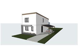 Vind case individuale Braytim, 4 camere , toate utilitatile 145 mpc , asfalt - 129.900 Euro - imagine 2