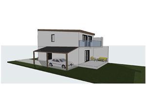 Vind case individuale Braytim, 4 camere , toate utilitatile 145 mpc , asfalt - 129.900 Euro - imagine 1