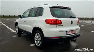 Vw Tiguan 2012 RAR efectuat 4x4-170CP R-Line Manual Xenon Panoramic Piele LED Zoll - imagine 4