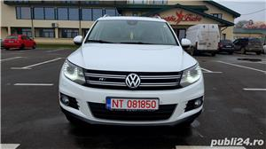 Vw Tiguan 2012 RAR efectuat 4x4-170CP R-Line Manual Xenon Panoramic Piele LED Zoll - imagine 2