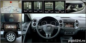 Vw Tiguan 2012 RAR efectuat 4x4-170CP R-Line Manual Xenon Panoramic Piele LED Zoll - imagine 6