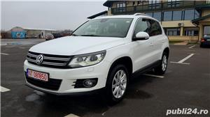 Vw Tiguan 2012 RAR efectuat 4x4-170CP R-Line Manual Xenon Panoramic Piele LED Zoll - imagine 3