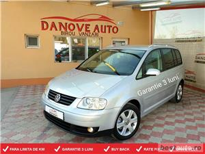 Vw Touran,GARANTIE 3 LUNI,BUY-BACK,RATE FIXE,2000 Tdi,140 CP,Climatronic,7 locuri.  - imagine 1