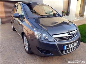 Opel Zafira, 2011, 7 locuri, PANORAMIC, 1.7 CDTi, Euro 5, CLIMATRONIC, KM pe factura *Finantare* - imagine 6