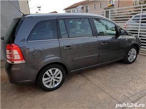 Opel Zafira, 2011, 7 locuri, PANORAMIC, 1.7 CDTi, Euro 5, CLIMATRONIC, KM pe factura *Finantare* - imagine 5
