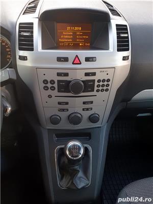 Opel Zafira, 2011, 7 locuri, PANORAMIC, 1.7 CDTi, Euro 5, CLIMATRONIC, KM pe factura *Finantare* - imagine 12
