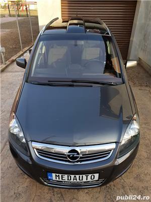 Opel Zafira, 2011, 7 locuri, PANORAMIC, 1.7 CDTi, Euro 5, CLIMATRONIC, KM pe factura *Finantare* - imagine 7