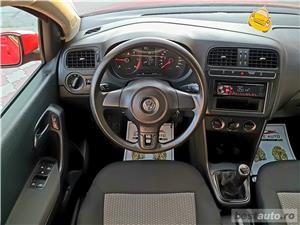 Vw Polo,LIVRAM GRATUIT,GARANTIE 3 LUNI,RATE FIXE,motor 1600 TDI,90 Cp,Euro 5,Clima - imagine 7