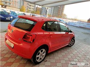 Vw Polo,LIVRAM GRATUIT,GARANTIE 3 LUNI,RATE FIXE,motor 1600 TDI,90 Cp,Euro 5,Clima - imagine 5