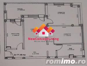 Apartament de vanzare in Sibiu - 3 camere - mobilat si utilat de lux - imagine 13