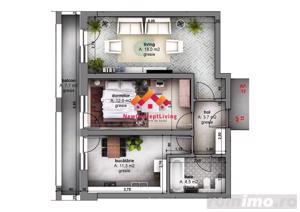 Apartament de vanzare in Sibiu - 2 camere decomandate - Family I - imagine 2