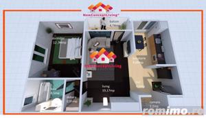 Apartament 2 camere in Sibiu INTABULAT - Zona practica Euroil Ciresica - imagine 14