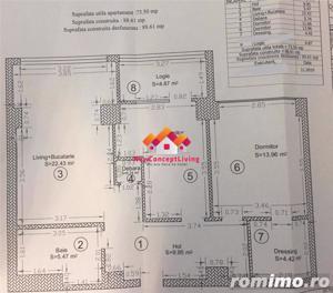 Apartament de vanzare in Sibiu - 3 Camere - Central - Langa Noul Mall - imagine 2