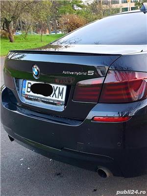 BMW seria 5, ActivHybrid 5, automat, 3000 cmc, hybrid, 306+54 cp, 2012, impozit 100 lei/an - imagine 4