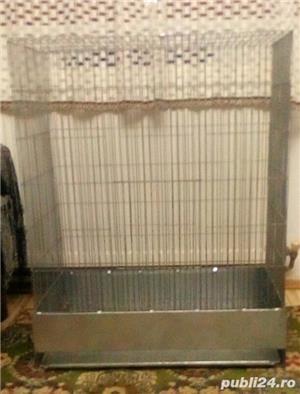 Cușcă (volieră) mare pasarele - imagine 2