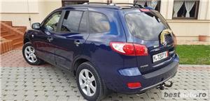 Hyundai Santa Fe2007/diesel/4x4/ Automata / piele crem /klima/full//import germania  - imagine 4