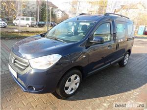 Dacia dokker 2015 1.6i  2015 31 de mi KM  Stare perfecta Euro - 5  fara AC - imagine 1