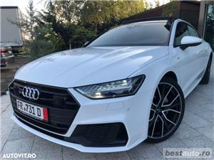 Audi A7 Hibrid S-Line Plus // 3.0 TDi 286 CP // Trapa Electrica // Distronic Plus // Mega Full.  - imagine 1