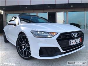 Audi A7 Hibrid S-Line Plus // 3.0 TDi 286 CP // Trapa Electrica // Distronic Plus // Mega Full.  - imagine 6