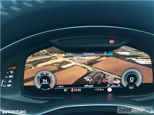 Audi A7 Hibrid S-Line Plus // 3.0 TDi 286 CP // Trapa Electrica // Distronic Plus // Mega Full.  - imagine 10