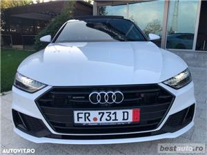 Audi A7 Hibrid S-Line Plus // 3.0 TDi 286 CP // Trapa Electrica // Distronic Plus // Mega Full.  - imagine 16