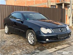 Mercedes CLK200 1.8 Kompressor ELEGANCE Benzina Euro 4 An 2005 Facelift PDC Încălzire Scaune - imagine 2