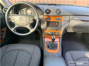 Mercedes CLK200 1.8 Kompressor ELEGANCE Benzina Euro 4 An 2005 Facelift PDC Încălzire Scaune - imagine 7
