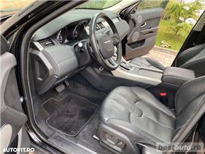 Range Rover Evoque Design // 2.2d 150 CP // Plafon Panoramic // Navigatie Mare 3D // Keyless Go.  - imagine 3