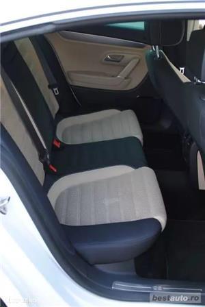 Volkswagen Passat CC // 2.0 TDi 140 CP // DayLight Led // Navigatie Mare 3D // Scaune Ventilate .  - imagine 6