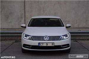 Volkswagen Passat CC // 2.0 TDi 140 CP // DayLight Led // Navigatie Mare 3D // Scaune Ventilate .  - imagine 17