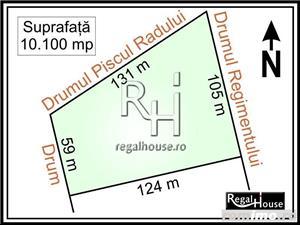 Baneasa - Sisesti, Regimentului, teren 10.100 mp - imagine 1