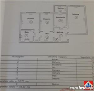 Lipovei,apt 3 camere decomandat,56 mp,et 3/4,76.500 euro  - imagine 9