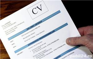 Redactare CV / Curriculum Vitae Romana/germana/engleza - imagine 2