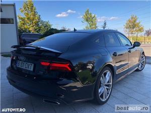 Audi A7 Quattro // 3.0 TDi 320 CP // Camera 360 Grade // Navigatie Mare 3D // Keyless Go+Entry . - imagine 9