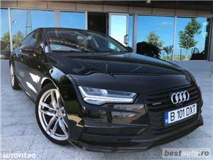 Audi A7 Quattro // 3.0 TDi 320 CP // Camera 360 Grade // Navigatie Mare 3D // Keyless Go+Entry . - imagine 8
