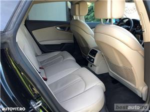 Audi A7 Quattro // 3.0 TDi 320 CP // Camera 360 Grade // Navigatie Mare 3D // Keyless Go+Entry . - imagine 6