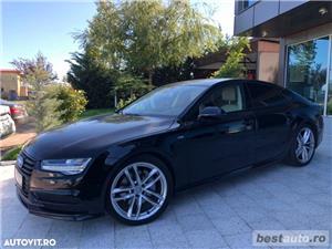 Audi A7 Quattro // 3.0 TDi 320 CP // Camera 360 Grade // Navigatie Mare 3D // Keyless Go+Entry . - imagine 20
