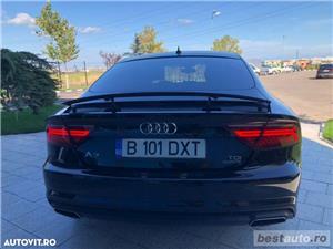 Audi A7 Quattro // 3.0 TDi 320 CP // Camera 360 Grade // Navigatie Mare 3D // Keyless Go+Entry . - imagine 18