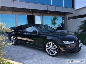Audi A7 Quattro // 3.0 TDi 320 CP // Camera 360 Grade // Navigatie Mare 3D // Keyless Go+Entry . - imagine 19