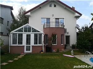 Corbeanca-Padurea Tamas- Casa individuala de lux cu piscina, finisaje deosebite - imagine 2