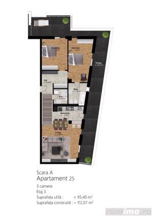 Apartamente 1,2, 3 camere, preturi de la 1000 euro/mp!!! - imagine 10