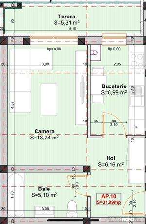 Apartamente cu 1 camera situate intr-un bloc nou, in zona Braytim - imagine 8