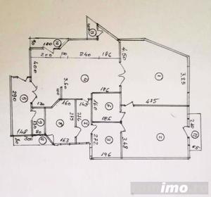 Hristo Botev 3 camere et 5/6 spatios 98 mp util, 108 mp construit - imagine 2