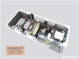 Apartamente SISTEM RATE LA DEZVOLTATOR , AVANS 0, DOBANDA 0, RATE PE PERIOADA DE 7 Ani, TATARASI!    - imagine 8