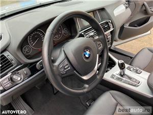 Bmw X3 X-Line // 2.0d 190 CP // Navigatie Mare 3D Keyless Go+Entry // Pilot Automat // Volan Sport.  - imagine 10