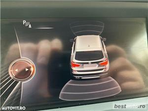 Bmw X3 X-Line // 2.0d 190 CP // Navigatie Mare 3D Keyless Go+Entry // Pilot Automat // Volan Sport.  - imagine 13