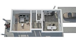 Casa cu CF suprafata de 140 mp, teren 458 mp Faget, Comision 0! - imagine 6